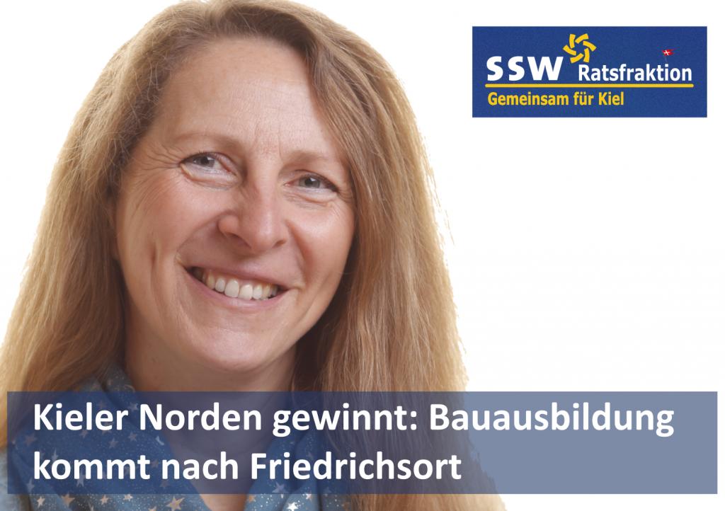 Dr. Susanna Swoboda, stellvertretende Vorsitzende der SSW-Ratsfraktion Kiel und Mitglied im Ortsbeirat Holtenau